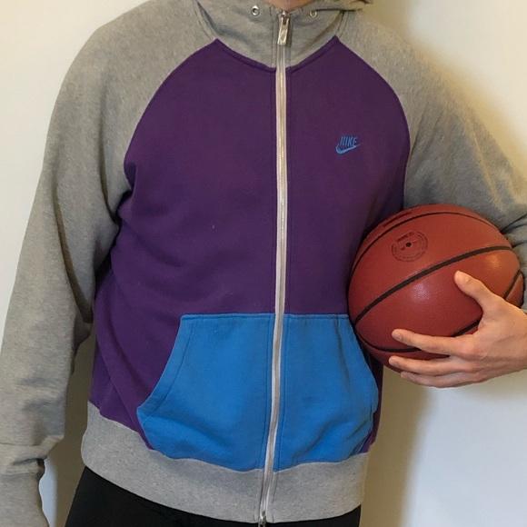 Nike Sportwear Multicoloured Zipup Hoodie